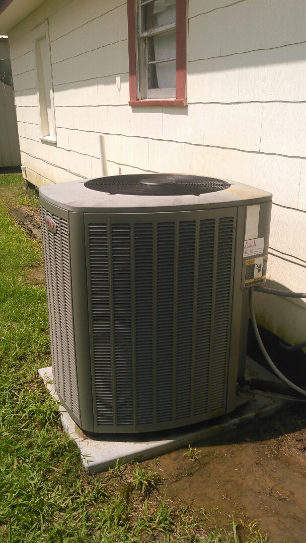 Did service call on Lennox unit and replace evap coil checked out system for yearly maintenance agreement.