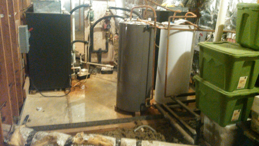 Carencro, LA - Did service call on climate master water source and cleaned drain line.