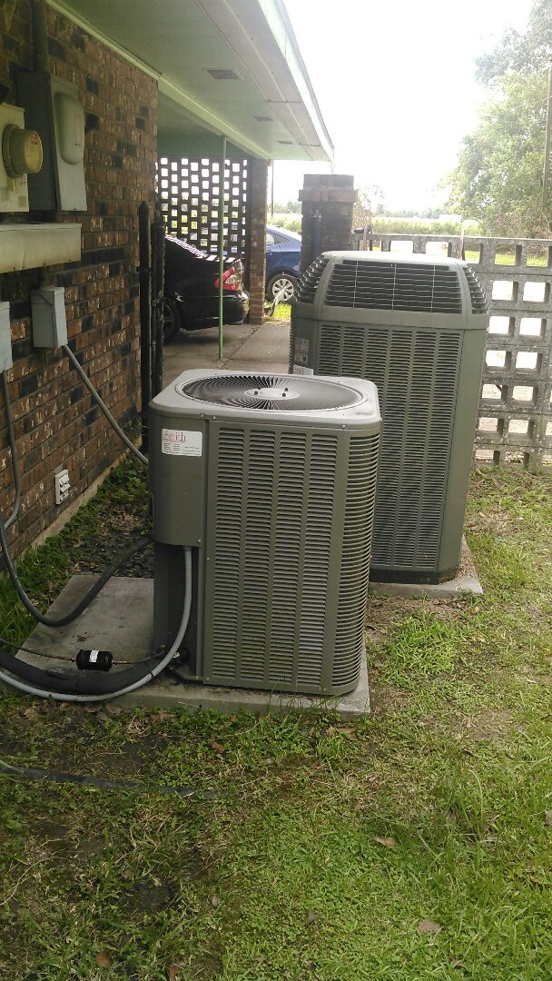 Opelousas, LA - Did service call on Lennox unit and replace evap coil in warranty.