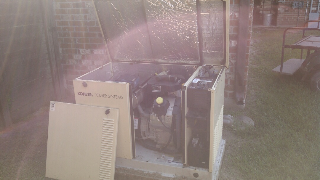 Saint Martinville, LA - Did service call on kohler generator.