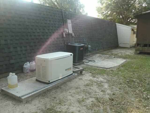 Ville Platte, LA - Did generator maintenance .