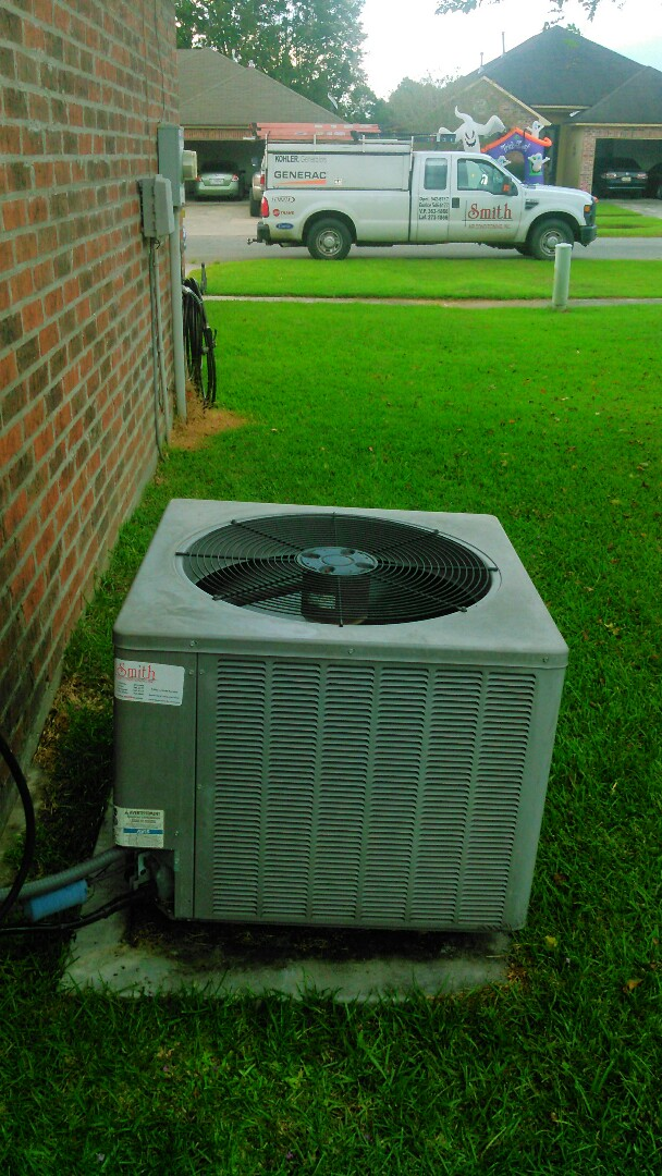Lafayette, LA - Did service call on ruud unit and replace contactor and capacitor.