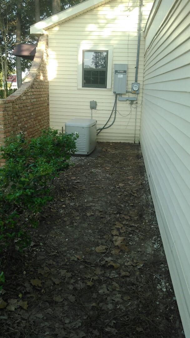 Ville Platte, LA - Did service call on generac  generator and found gas leak.