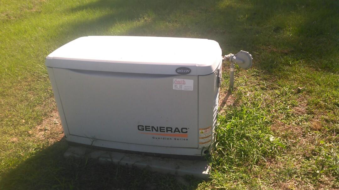 Saint Landry, LA - Did maintenance on generator.