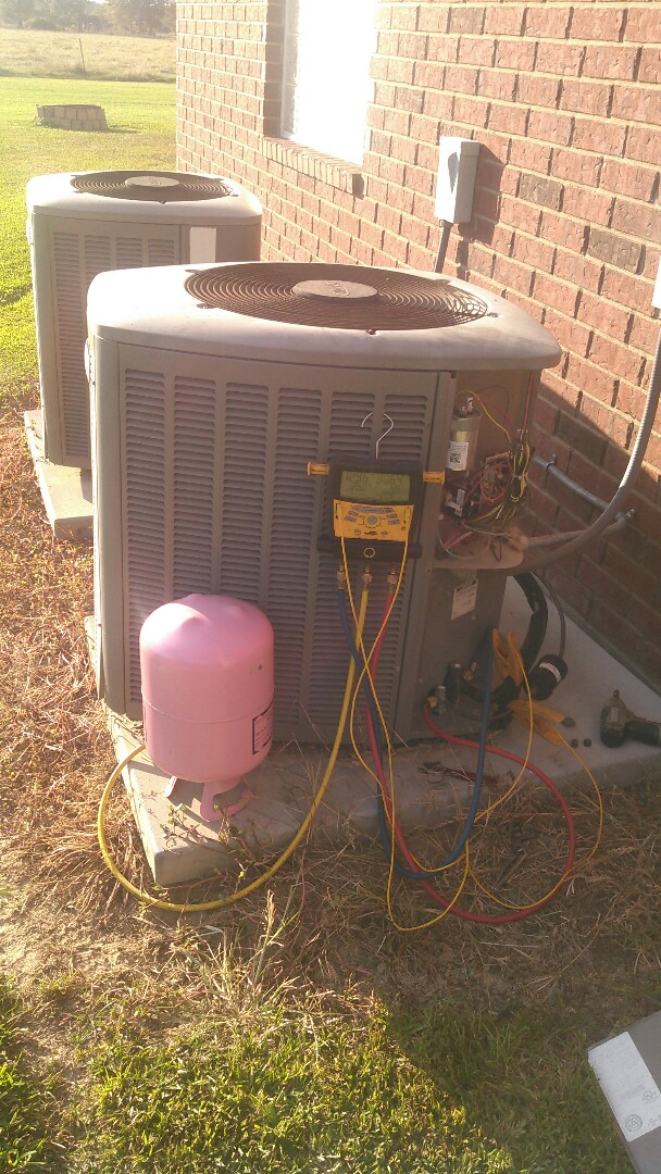 Washington, LA - Did service call on Lennox unit and added Freon.