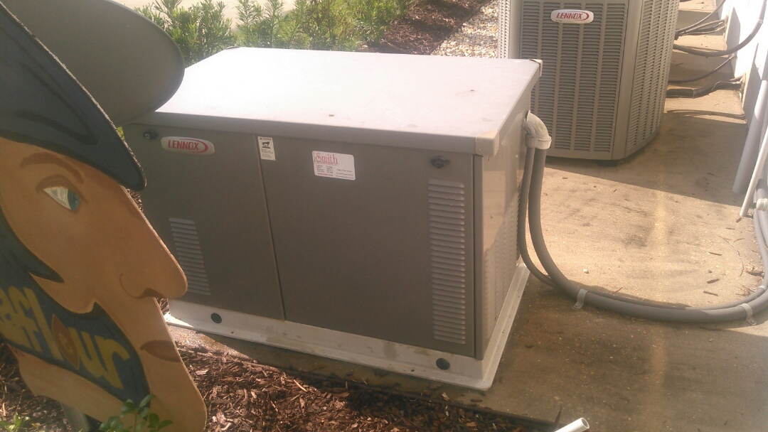 Ville Platte, LA - Did generator maintenance on Lennox generator.