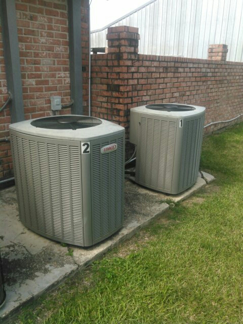 Sunset, LA - Did service call on Lennox unit, s and replace evap coil.