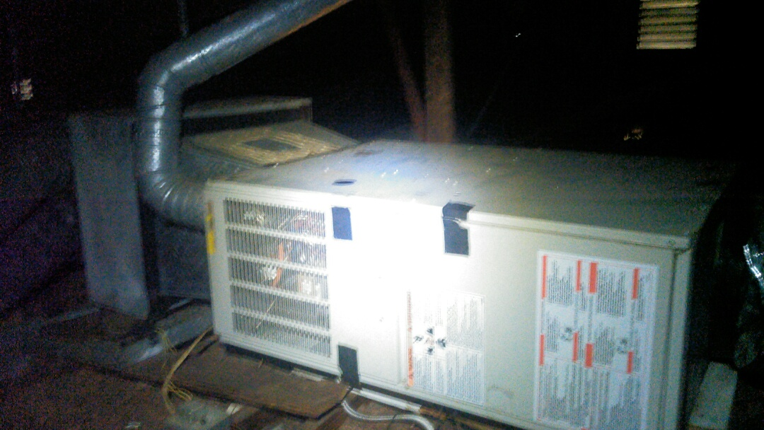 Lafayette, LA - Did service call on heater unit and replace capacitor.
