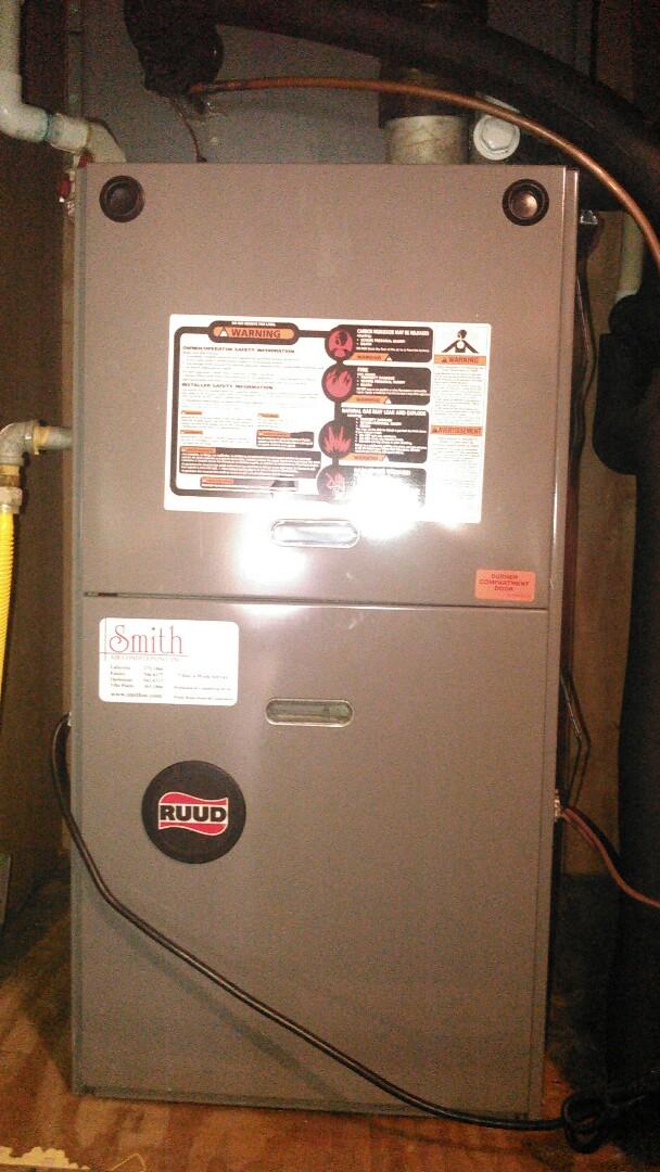 Port Barre, LA - Did heating tune up on ruud unit.