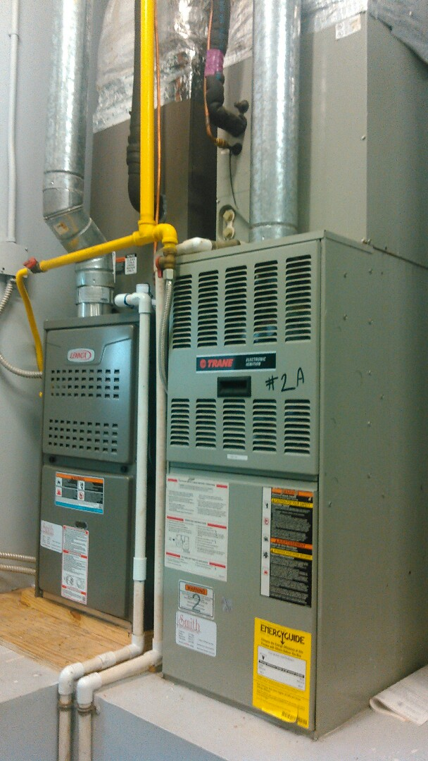 Basile, LA - Did service call on Lennox heater and installed twinning kit.