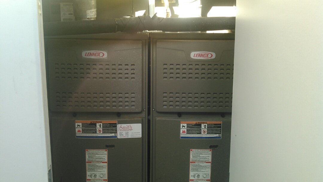 Opelousas, LA - Did service call on Lennox heater unit and installed tstat with senor.