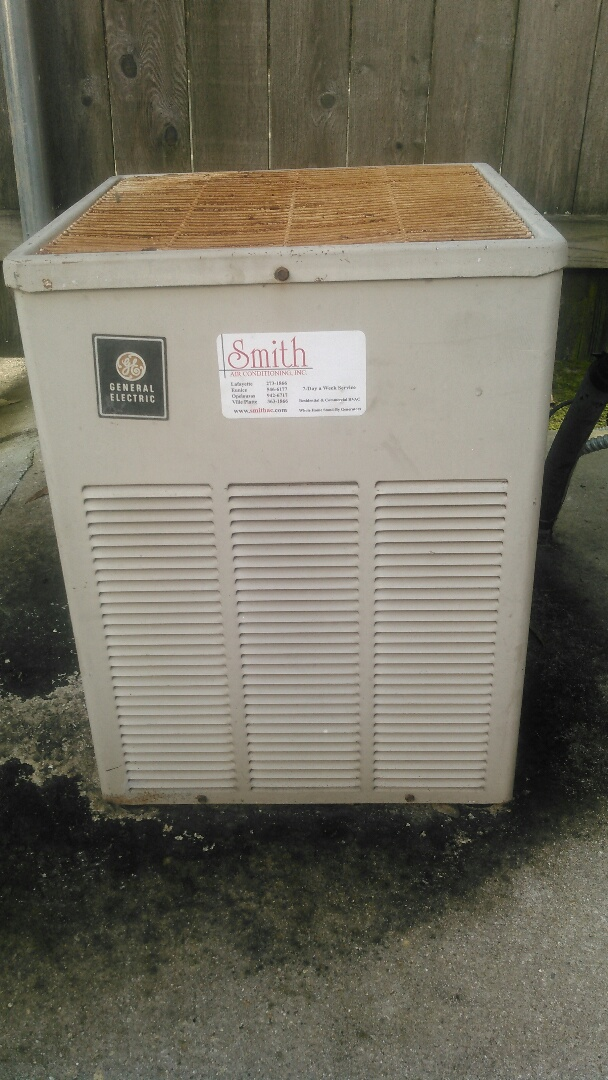 Lafayette, LA - Did service call on trand unit and replace capacitor.