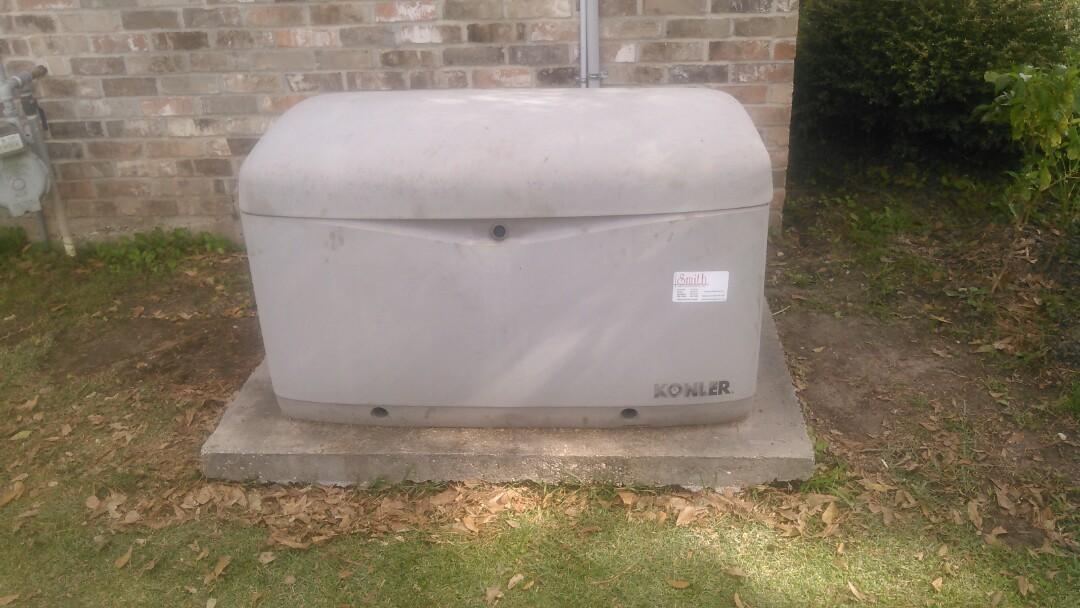 Opelousas, LA - Did yearly maintenance on generator.