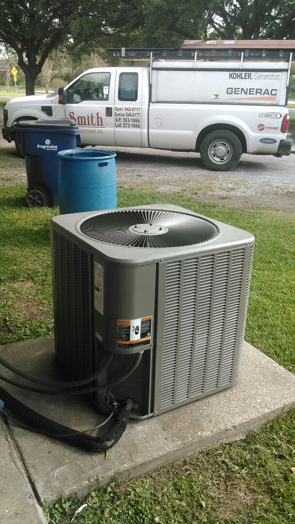 Opelousas, LA - Did service call on Lennox unit and compressor bad.