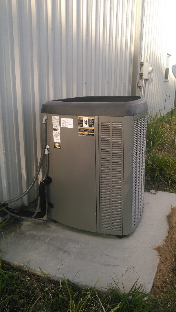 Port Barre, LA - Did service call on Lennox unit and evap coil change out in warranty.