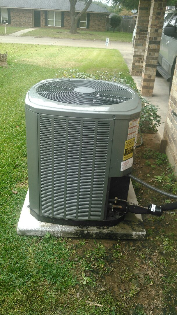 Did heating tune up on trand unit.
