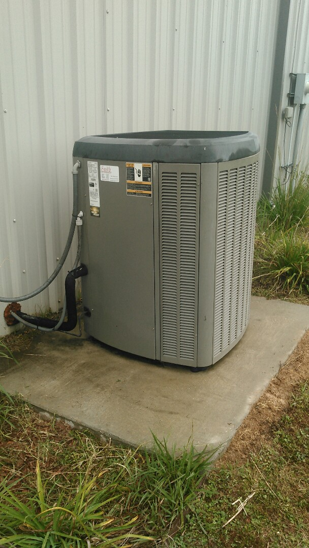 Port Barre, LA - Did heating tune up on Lennox unit and replace filter.