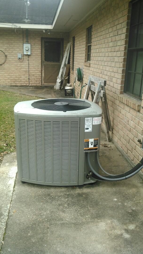Did heating tune up on Lennox heater unit.
