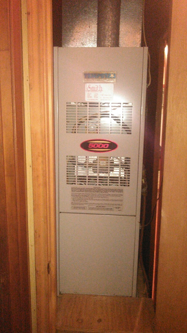 Basile, LA - Did service call on tempstar heater unit and cleaned burners.