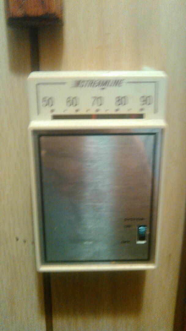 Basile, LA - Did service call on tempstar heater and tstat bad.