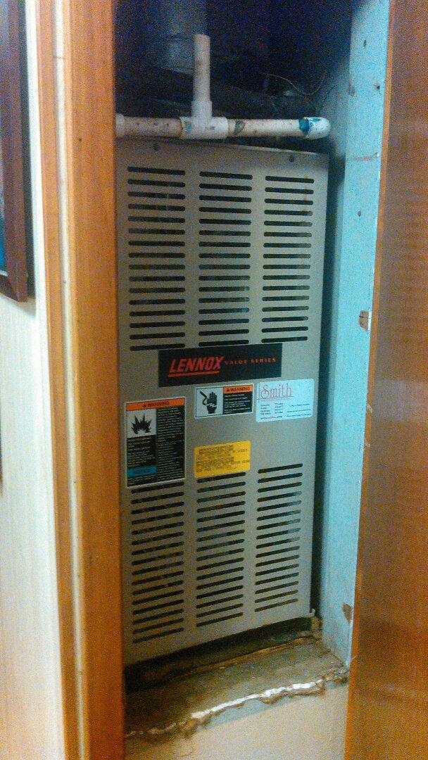 Saint Landry, LA - Did heating tune up on Lennox heater.