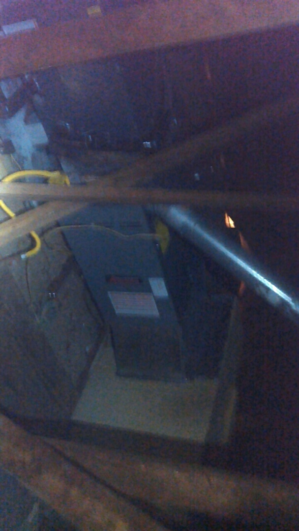 Lafayette, LA - Did heating tune up on Amana heater unit.