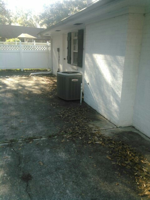 Lafayette, LA - Did heating tune up on Lennox unit and replace filter.