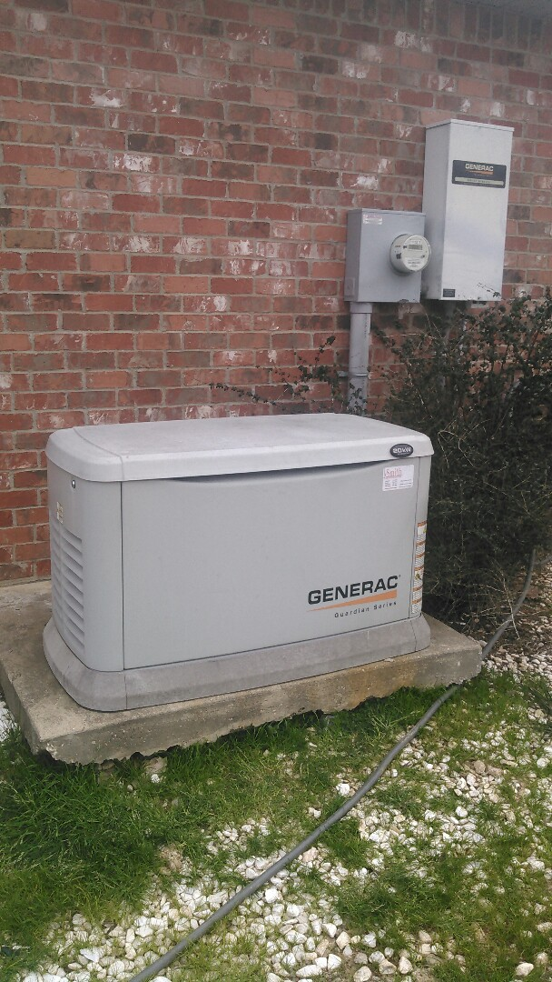 Cottonport, LA - Did service call on generac generator and reset breaker and did load test on generator.