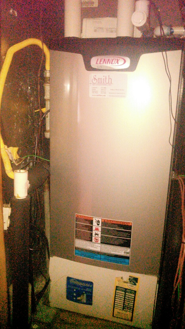 Church Point, LA - Did heating tune up on Lennox heater and replace filter and reset control board.