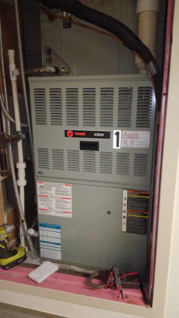 Mamou, LA - Preventative maintenance on a furnace.