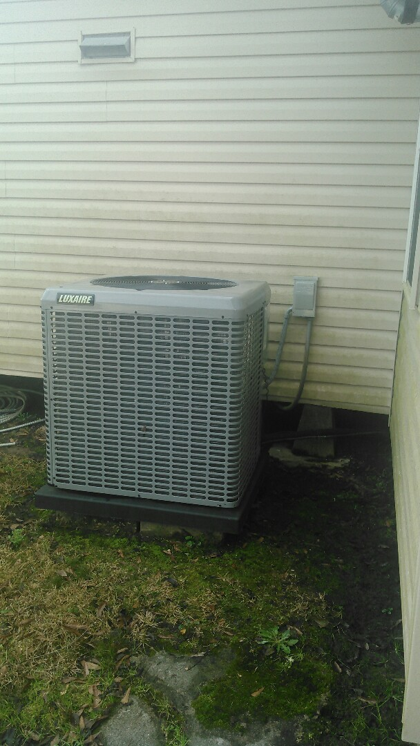 Oakdale, LA - Did heating tune up on luxaire unit.