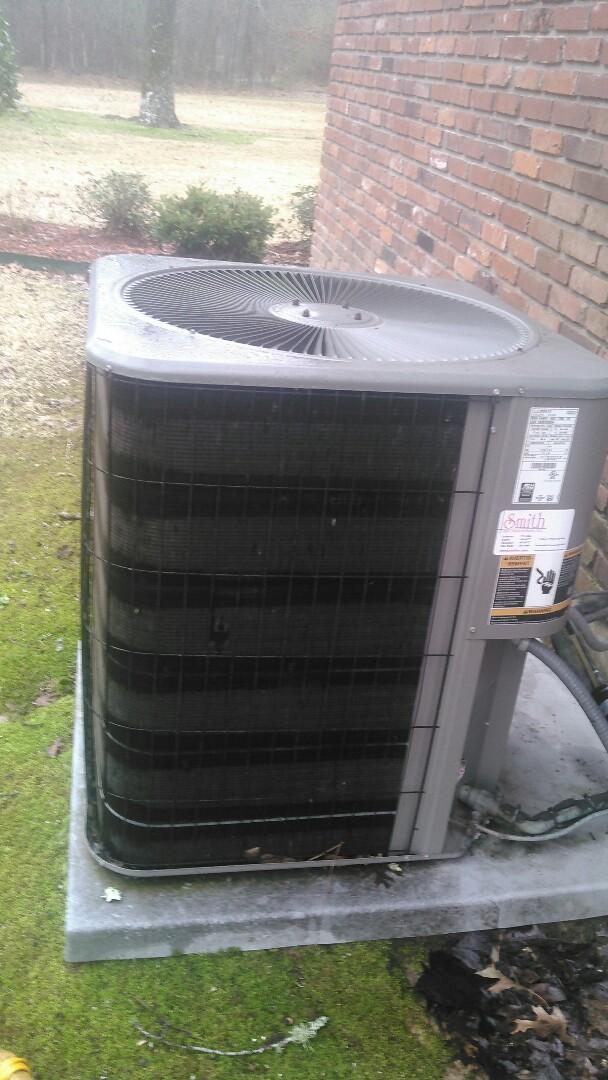 Ville Platte, LA - Did heating tune up on Lennox heater .