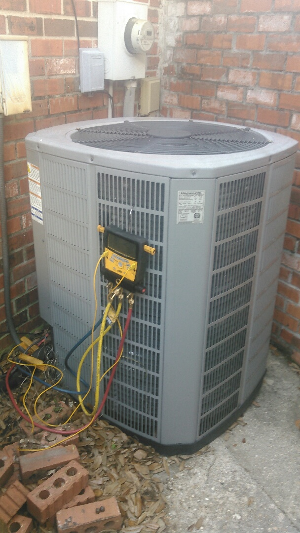 Lafayette, LA - Did service call on Lennox and trand systems and replace dual run capacitor.