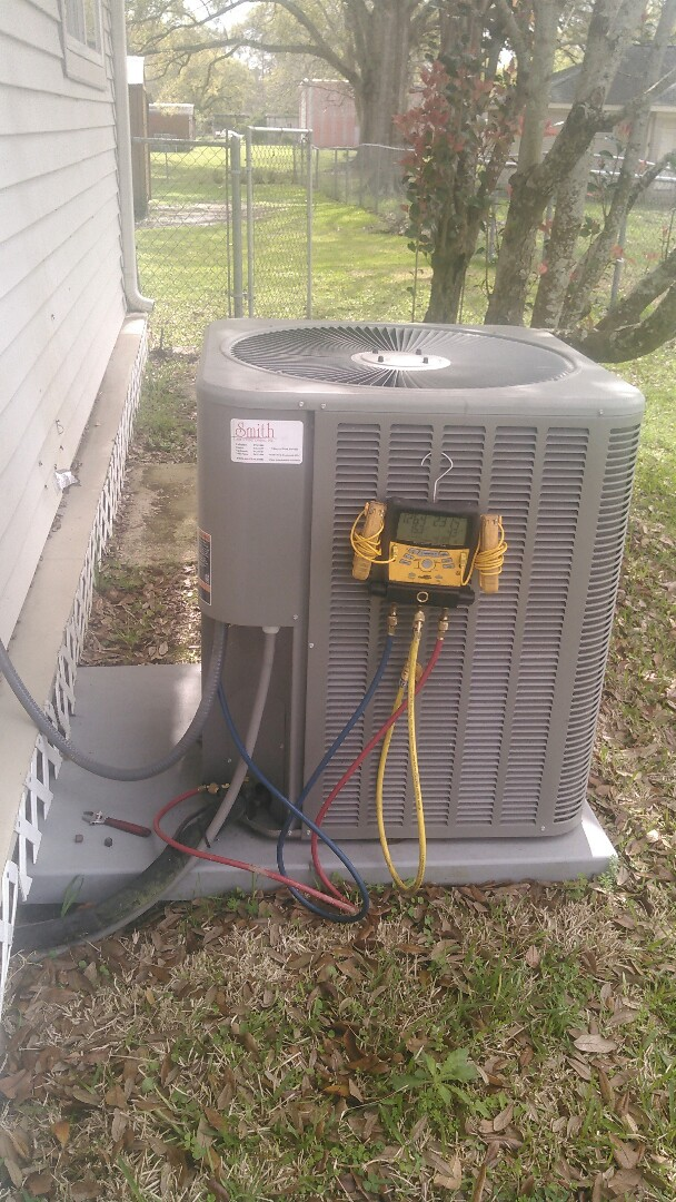 Lafayette, LA - Did service call on Lennox unit and replace blower motor in warranty.