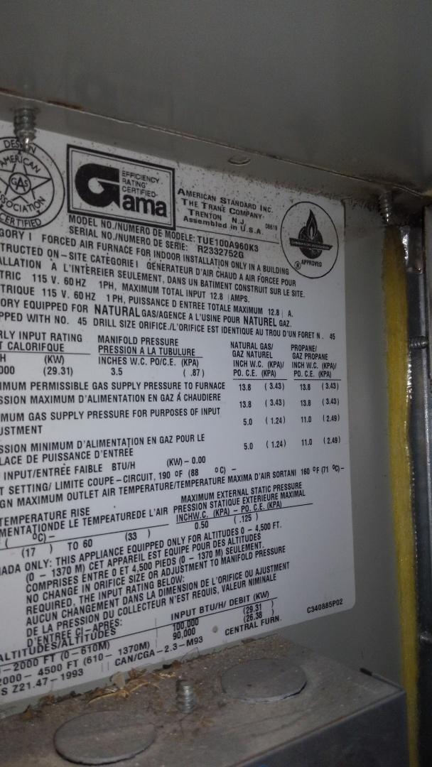 Basile, LA - Preventative maintenance on 3 furnaces