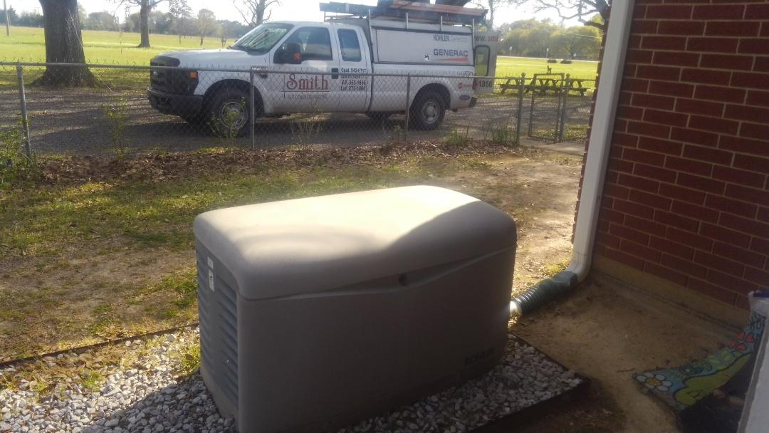 Ville Platte, LA - Did service call on Kohler generator and replace battery.