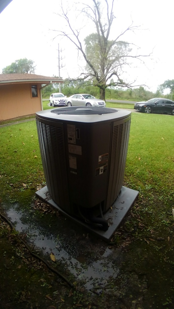 Opelousas, LA - Did service call on Lennox system and reset unit and did cooling tune up on 2 units.