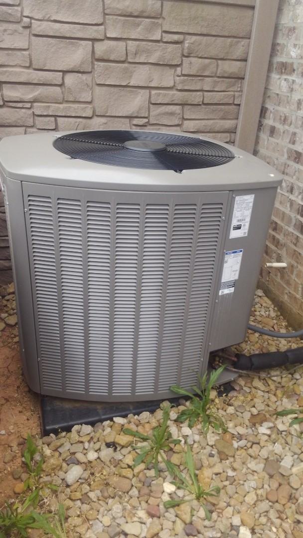 Did service call on Lennox system and replace ceiling boxes and grills and adjusted charge.