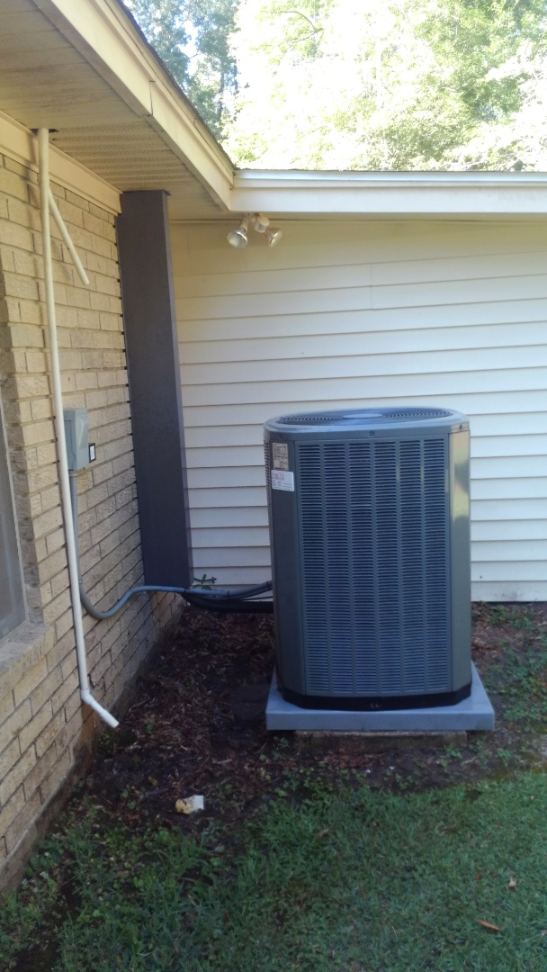 Oberlin, LA - Did cooling tune up on trand system and replace filter.