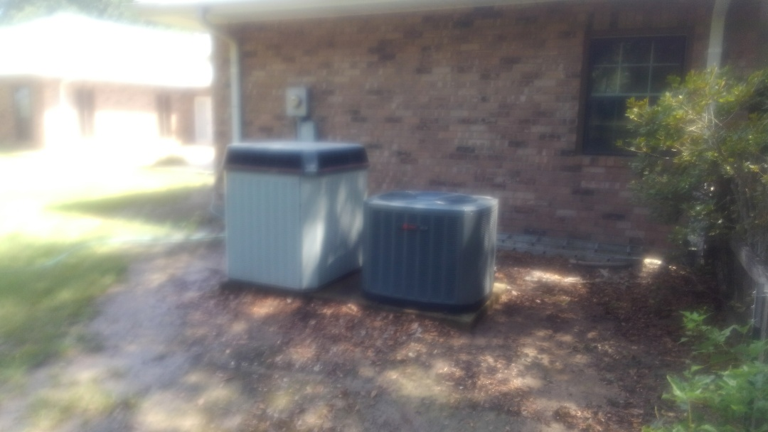 Eunice, LA - Did cooling tune up on trand system and replace filter and added frenon.