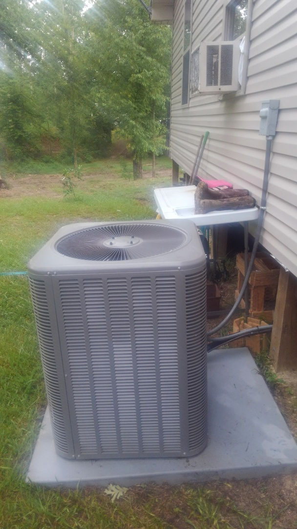 Cheneyville, LA - Did service call on Lennox system and added frenon.