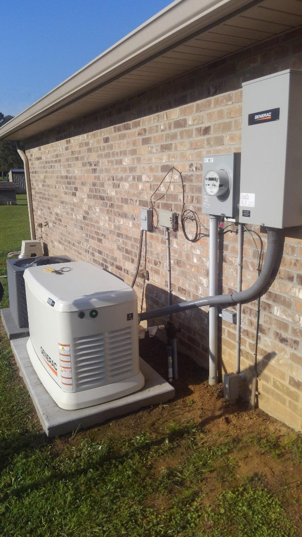 Oakdale, LA - Did maintenance on generator.
