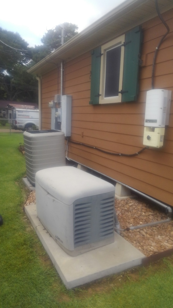 Church Point, LA - Did yearly generator maintenance and replace battery.