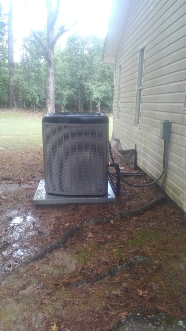 Ville Platte, LA - Did cooling tune up on Lennox system and reset control board .