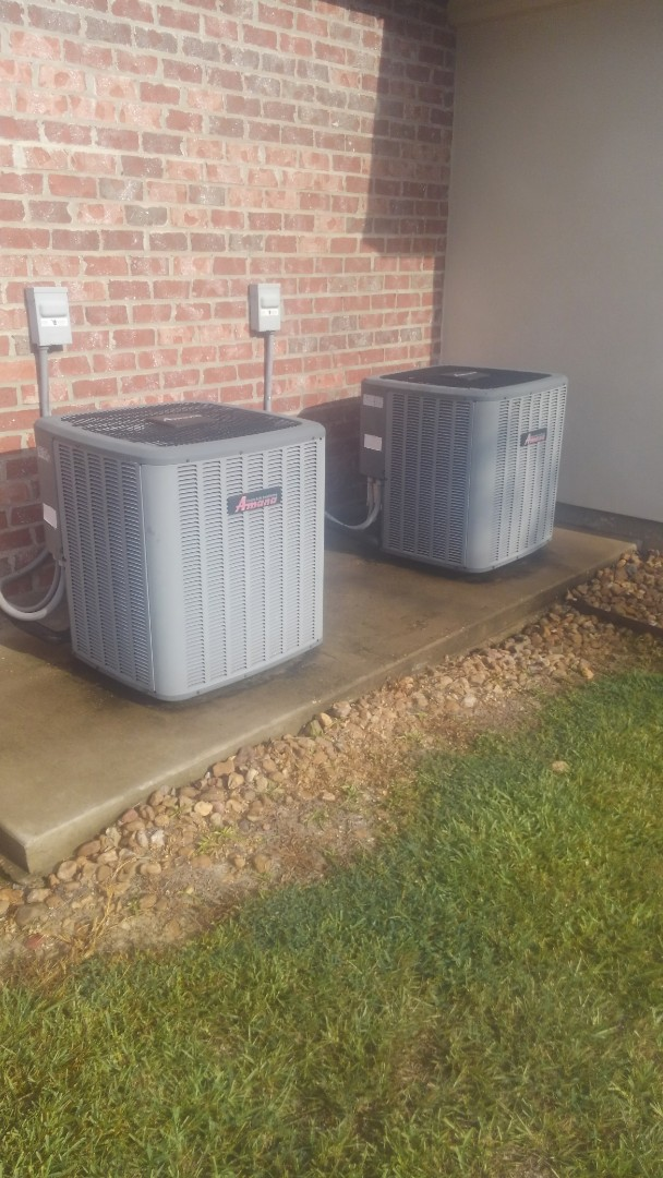 Ville Platte, LA - Did service call on Amana units for better cooling.