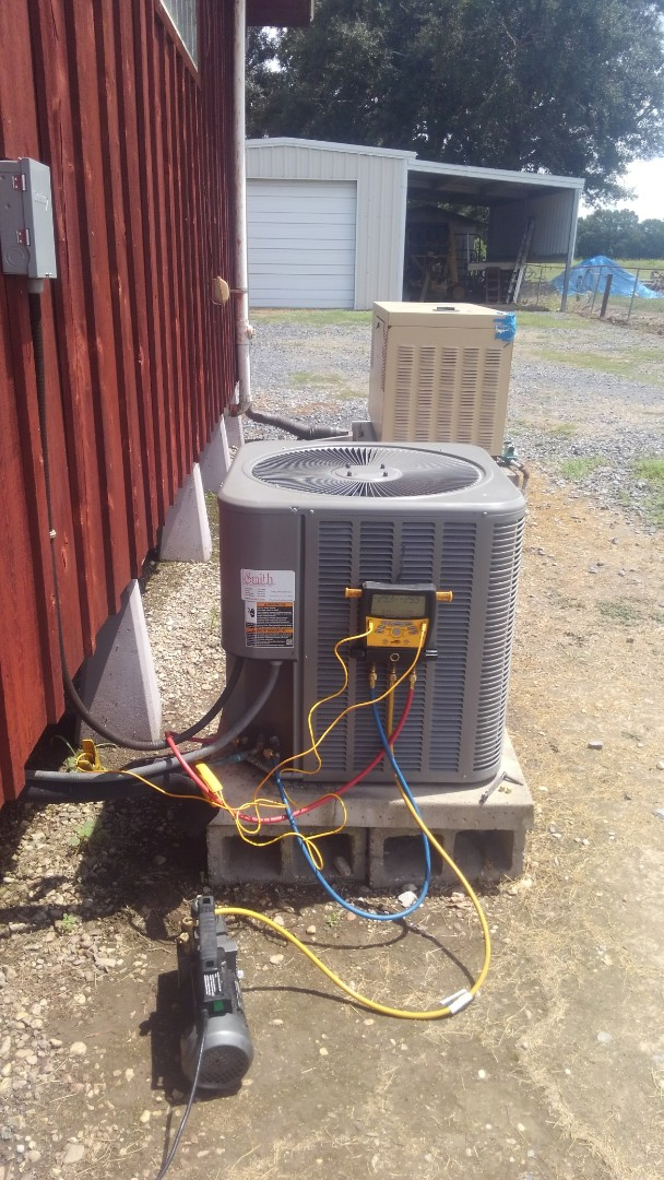 Carencro, LA - Did service call on Lennox system and replace EVAP coil in warranty.