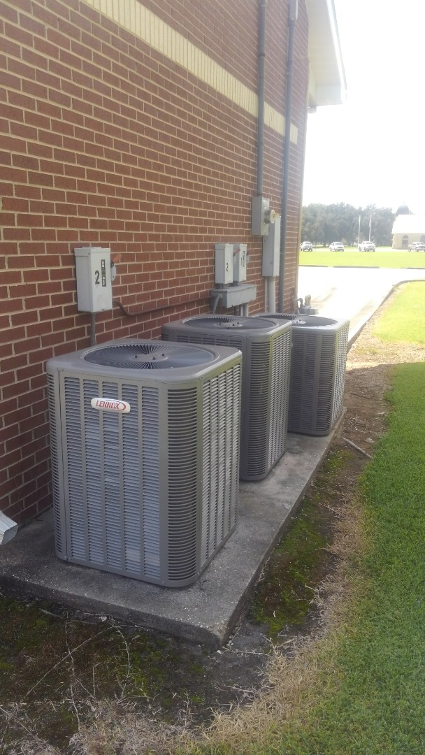 Port Barre, LA - Did service call on Lennox system and added frenon.