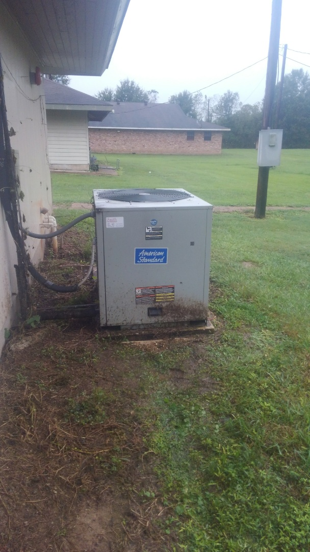 Did service call on trand system and replace contractor.