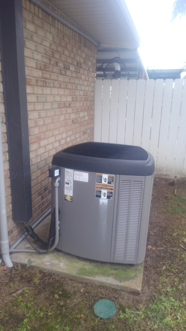 Did service call on Lennox system and replace filter