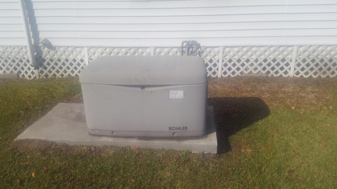 Mamou, LA - Did yearly generator maintenance.
